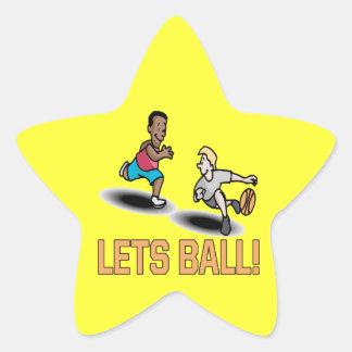 Lets Ball Sticker