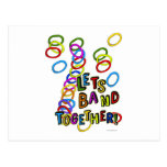 Let's Band Together Post Cards