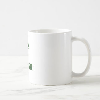 LET'S BE FRANK COFFEE MUG