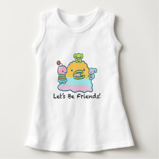 Let's Be Friends Baby Sleeveless Dress