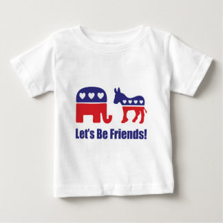 Let's Be Friends! Baby T-Shirt