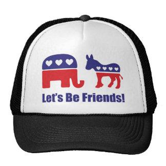 Let's Be Friends! Cap