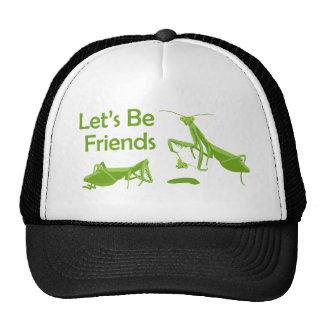 Lets Be Friends Cap