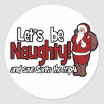 Let's be Naughty and Save Santa the Trip