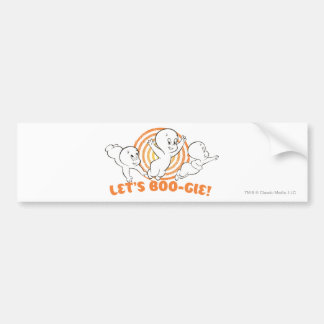 Let's Boo-gie Car Bumper Sticker