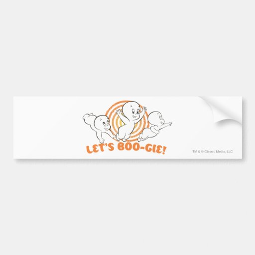 Let's Boo-gie Bumper Sticker