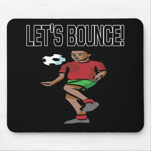 Lets Bounce Mouse Pad