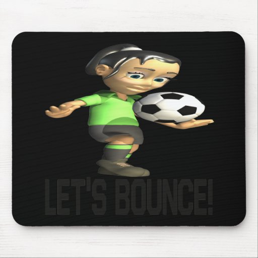 Lets Bounce Mouse Pads