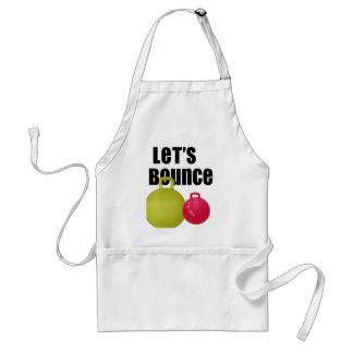 Let's Bounce Standard Apron