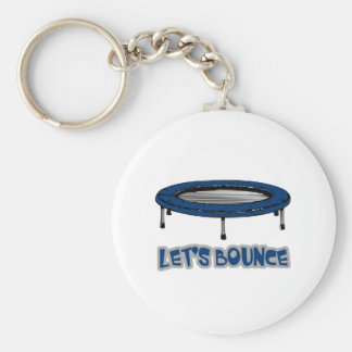 Lets Bounce Trampoline Key Ring