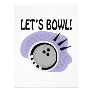 Lets Bowl Personalized Flyer