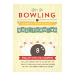 Let's Bowl! Multiple Birthday Party Invitation