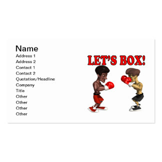 Lets Box 2 Pack Of Standard Business Cards