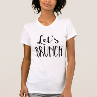 Let's Brunch Pullover White Women's Hoodie