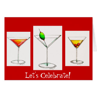 Let's Celebrate! Greeting Card