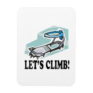 Lets Climb Flexible Magnets