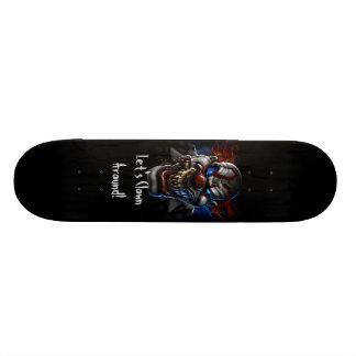 """Let's Clown Around - 7 3/4"""" Deck Skateboard"""