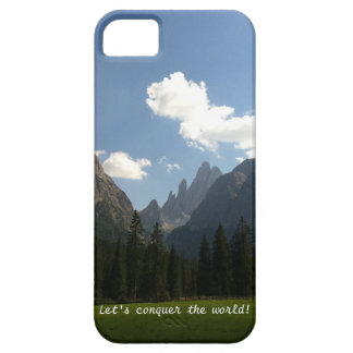 Let's conquer the world iPhone case
