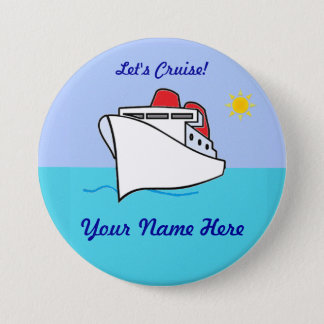 Let's Cruise Name Badge