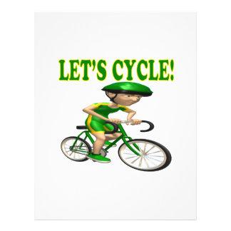 Lets Cycle 2 21.5 Cm X 28 Cm Flyer