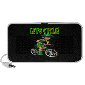 Lets Cycle 2 iPod Speakers