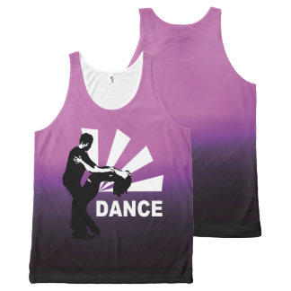lets dance and have fun All-Over print tank top