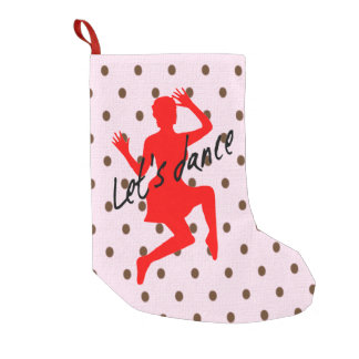 Let's Dance - Custom Christmas Stocking