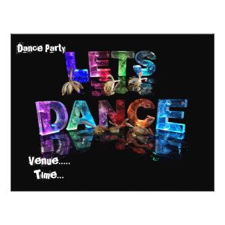 Lets Dance Flyer