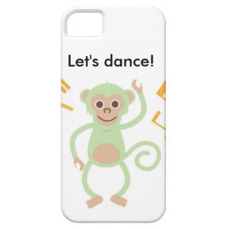 Let's dance green monkey iPhone case
