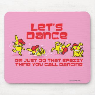 Let's Dance Mouse Mat