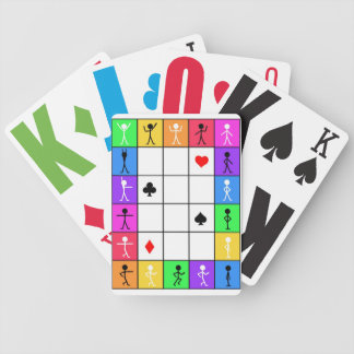 Let's dance playing cards