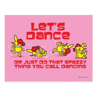 Let's Dance Postcard