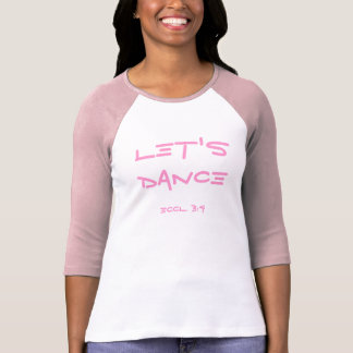 LET'S DANCE shirt