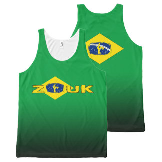lets dance zouk All-Over print tank top