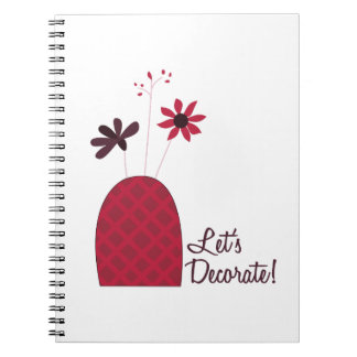 Lets Decorate Note Books
