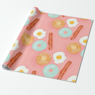 Let's do Brunch Wrapping Paper