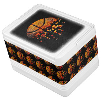 Let's dribble it! igloo cool box