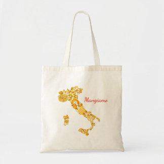 Let's Eat - Italian Pasta Canvas Bag