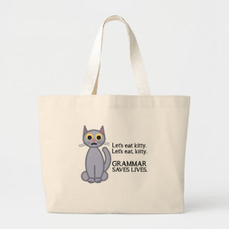 Let's Eat Kitty Bags