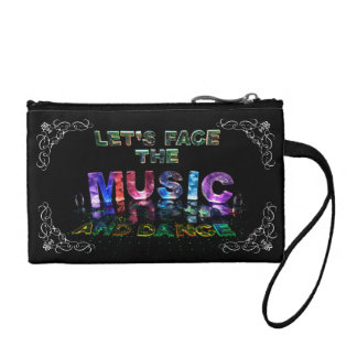 Let's Face the Music & Dance Change Purse