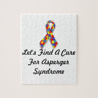 Let's Find A Cure For Asperger Syndrome Puzzles