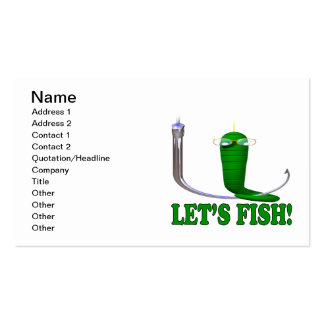 Lets Fish Pack Of Standard Business Cards