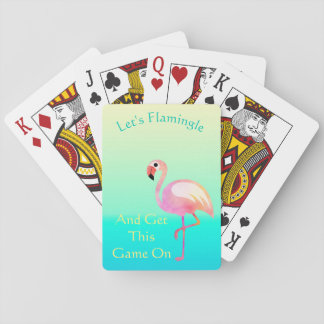 Let's Flamingle And Get This Game Flamingo Cards