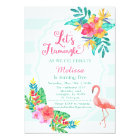 Let's Flamingle - Flamingo Invitation