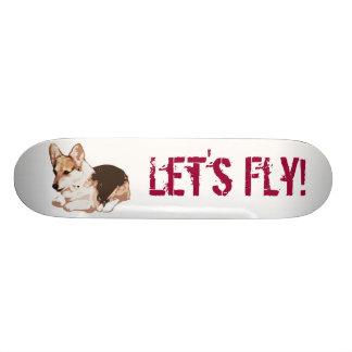 Let's Fly! 21.3 Cm Mini Skateboard Deck