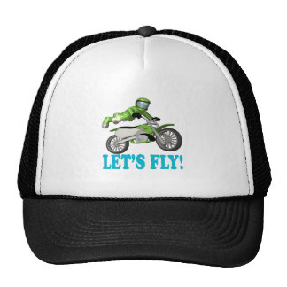 Lets Fly 2 Mesh Hats