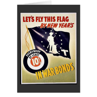 Lets Fly This Flag Greeting Card