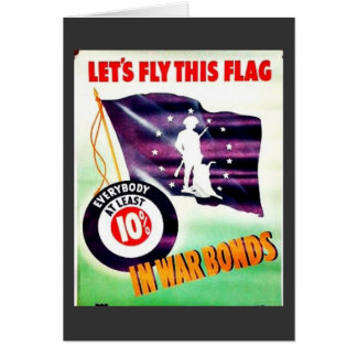 Lets Fly This Flag Greeting Cards