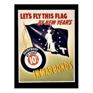 Lets Fly This Flag Postcards