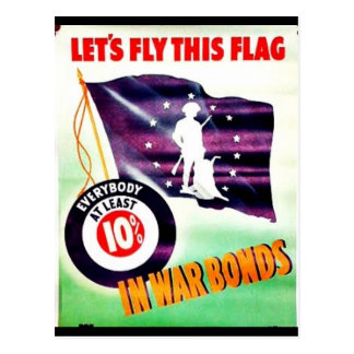 Lets Fly This Flag Post Cards